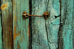 the detail in the colours and textures of the wood, paint, metal and rust is beautifully vibrant.