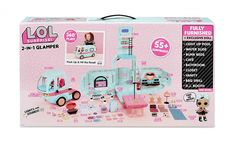 LOL Surprise 2 in 1 Glamper Fashion Camper with Surprises - the First Vehicle for LOL Surprise dolls Shopkins Season 8, Baby Play House, Princess Doll House, Baby Doll Furniture, Construction Lego, 7th Birthday Party Ideas, Lego Mindstorms, Scrapbooking, Doll Stands