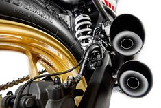Yamaha MT-03 - Kingston Customs.   Headed by racer and motorcycle builder Dirk Oehlerking, Kingston Customs is a small workshop running out of Hanover, Germany. For this build, Dirk decided to take on two surprisingly young starters – a new Yamaha MT-03 and a 12-year-old by the name of Moritz Bree., http://www.pipeburn.com/home/2016/12/02/yamaha-mt-03-kingston-customs.html