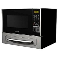 Stainless Steel Kenmore 1.1 cu. ft. Countertop Microwave & Pizza Oven