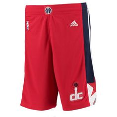 Men's Washington Wizards adidas Red Swingman Shorts