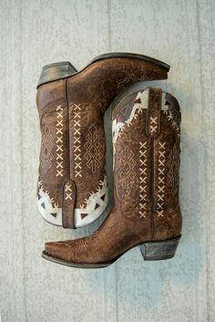Southwestern vintage leather boots