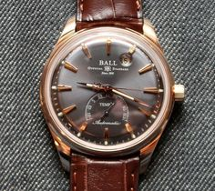 Ball Trainmaster Kelvin Watch Review