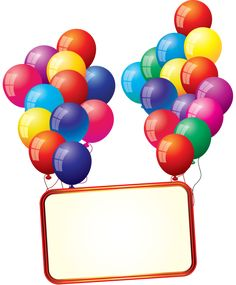 free birthday balloon art birthday clip art images birthday stock rh pinterest com free clip art birthday images free clipart birthday cake