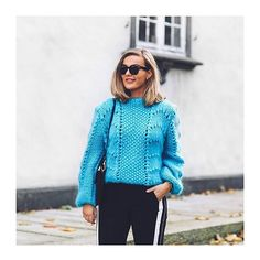 The gorgeous knit from Ganni also comes in this gorgeous color _______________________________________________________  #høyeregertorget #høyertrendwoman #ganni #ss17 📷: eirinkristiansen