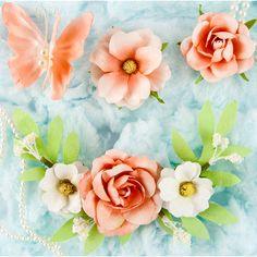 Prima Marketing Esperanza Butterfly & Flower Mix Trella