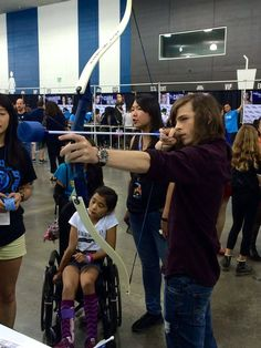 Chandler Riggs at Heros&Villains the samething from the other one