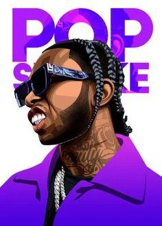 Rapper Wallpaper Iphone, Smoke Wallpaper, Rap Wallpaper, Cartoon Styles, Cartoon Art, Swag Cartoon, Tupac Art, Smoke Pictures, Lil Durk