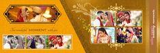 New Marriage Photo Album Design 12x36 PSD Sheets
