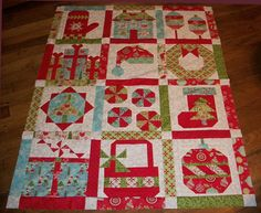 Christmas quilt blocks | Country Scrap Quilts: Christmas BOM