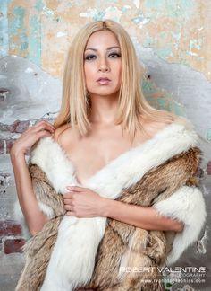 Model: Laura Garcia, MUA: Maria Constantine, Furs: Marsha Stewart ...