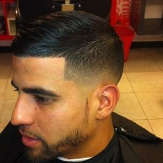 Medium Fade Haircut Men