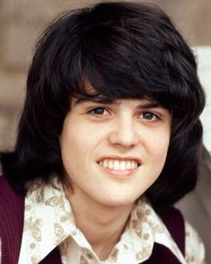 I loved Donny Osmond. The VERY FIRST album I bought with my allowance--it took a while (two dollars a month)