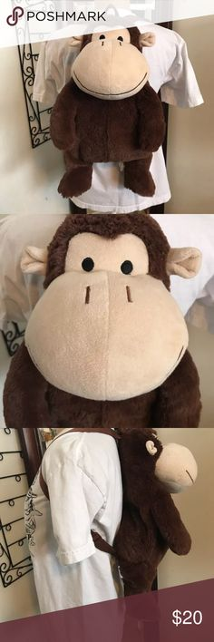Monkey backpack Carry your cuddly buddy with you great monkey backpack Bags Backpacks