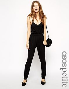 Enlarge ASOS PETITE Exclusive Strappy Jumpsuit