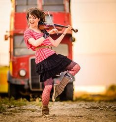 Only Lindsey Stirling can manage to be the best violinist I've ever heard AND be able to dance around the whole time that she's playing AND manage to look adorable the whole time!