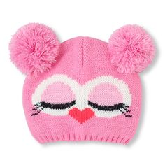 33 Ideas crochet cat beanie pattern free knitting for 2019 Knitted Baby Clothes, Baby Hats Knitting, Crochet Baby Hats, Knitting For Kids, Baby Knitting Patterns, Knit Crochet, Baby Knits, Knitted Owl, Knitted Hats