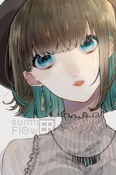 Cool Anime Girl, Beautiful Anime Girl, Kawaii Anime Girl, Anime Art Girl, Anime Girls, Manga Anime, Manga Girl, Human Drawing, Manga Drawing