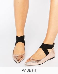Rose gold | wide width shoes