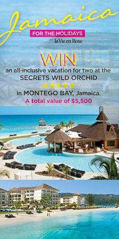 #Win a Week in Montego Bay #Jamaica