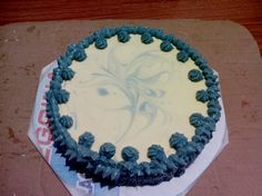 Aqua soap cake
