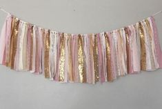 Light Pink and Gold Banner/ Birthday Banner/ Party/ Baby Shower/ Photography Banner/ Garland - Super Capes and Tutus, Birthday Party Banners, [product_tags] Pink And Gold Birthday Party, Golden Birthday, 1st Birthday Girls, Birthday Ideas, Birthday Shots, Birthday Favors, Birthday Bash, Birthday Party Photography, Baby Shower Photography