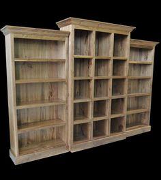Rustic Walnut bookcase