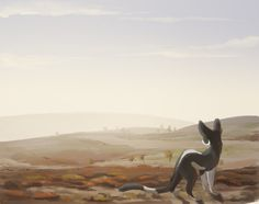 A Cold Day on the Moor by Finchwing.deviantart.com on @DeviantArt