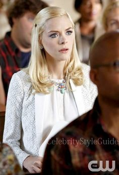 Seen on Celebrity Style Guide: Hart of Dixie Fashion: Jaime King, as Lemon Breeland wore the Marc by Marc Jacobs Collage Blazer and Rebecca Taylor Loose Sleeveless Blouse on Hart of Dixie: Season 3 Episode 1 'Who Says You Can�t Go Home?'