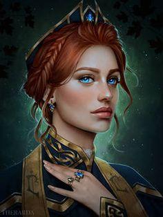 Therarda - Hobbyist, Digital Artist | DeviantArt Fantasy Art Women, Dark Fantasy Art, Fantasy Girl, Dnd Characters, Fantasy Characters, Female Characters, Female Character Design, Character Concept, Character Art
