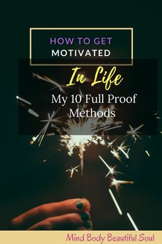 How to Get Motivated in Life: My 10 Full Proof Methods. Tips that have helped me overcome my inner-self and have direction back in my life. Used to conquer any obstacles you face. Finding Motivation, Need Motivation, Motivation Success, How To Be More Organized, How To Get Motivated, Find Your Why, Productive Things To Do, Transform Your Life, Mind Body Soul