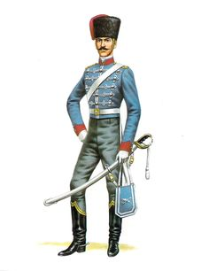 Chile; Husar Squadron,Officer, 1832