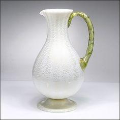Fratelli Toso Italian Studio Art Glass Lattimo & by TwoGuysAndADog