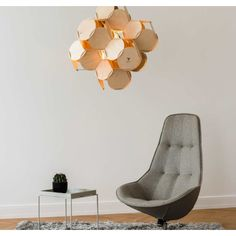 PRODUCTS :: LIVING AND DESIGN :: LIGHTING :: Hanging lamps :: CEILING LAMP 8CELLS