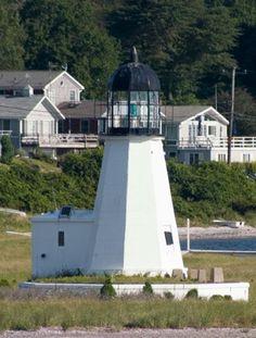 Prudence Island Light, Rhode Island, USA
