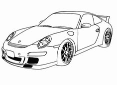 911 Printable Coloring Pages New Porsche Coloring Pages Race Car Coloring Pages, Truck Coloring Pages, Coloring Pages For Boys, Coloring Pages To Print, Printable Coloring Pages, Coloring Sheets, Coloring Books, Free Coloring, Colouring