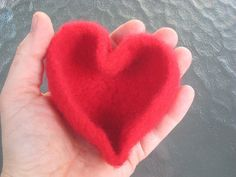 Just in time for Valentine's Day - a heart shape felted bowl.  Available in my  Etsy shop.     Hope you are staying warm this winter - it's...