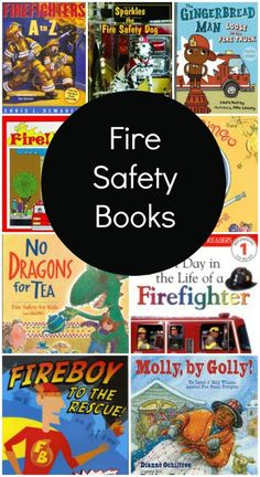 Books About Fire Safety and Firefighters