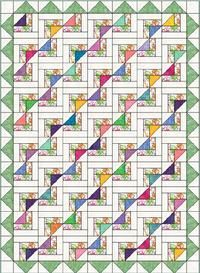 quilt pattern baby beginner easy fast