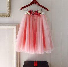Valentine Day tulle skirt from Space 46 Boutique