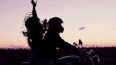 bike, couple, gif, gifs, happiness