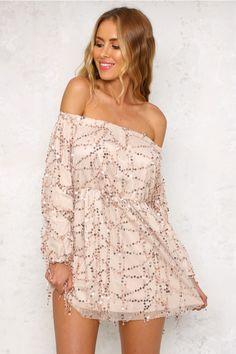 HelloMolly | Enchanted Love Dress Bronze