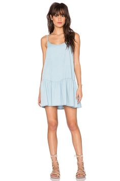 017e488513f Wilde Heart Chambray Swing Dress in Chambray Summer Dresses For Women
