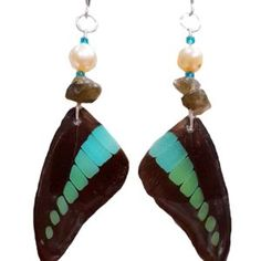 new butterfly wing jewelry. from our lavender harvest moon collection.