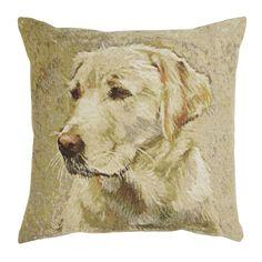 Labrador Tapestry Cushion at Laura Ashley