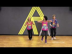 ▶ Chiquilla - Zumba. We do this in Marian's class and I ♥ this one!