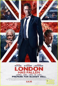 Gerard Butler Gets Into Action on 'London Has Fallen' Poster: Photo #3557729. Gerard Butler is locked and loaded and ready for action on the new poster for his upcoming action flick London Has Fallen. The sequel to Olympus Has Fallen will…