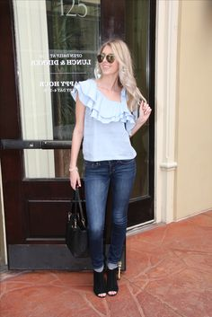 d2901cda450 Pair with dark denim and black booties now and white denim and sandals  later! Apricot Lane ...