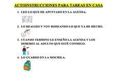 Victoria López, de Vélez- Málaga, colaboradora del blog que hace un tiempo nos enviaba una serie de guiones sociales para alumnos con TEA: GUIONES SOCIALES PARA ALUMNOS CON TEA Nos envía en esta ocasión un trabajo de autoinstrucciones que ha elaborado para sus alumnos con TDAH con la finalidad de