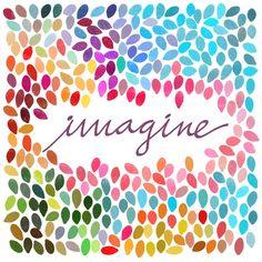 Imagine - Art Print by Anna Carol & Garima Dhawan/Society6